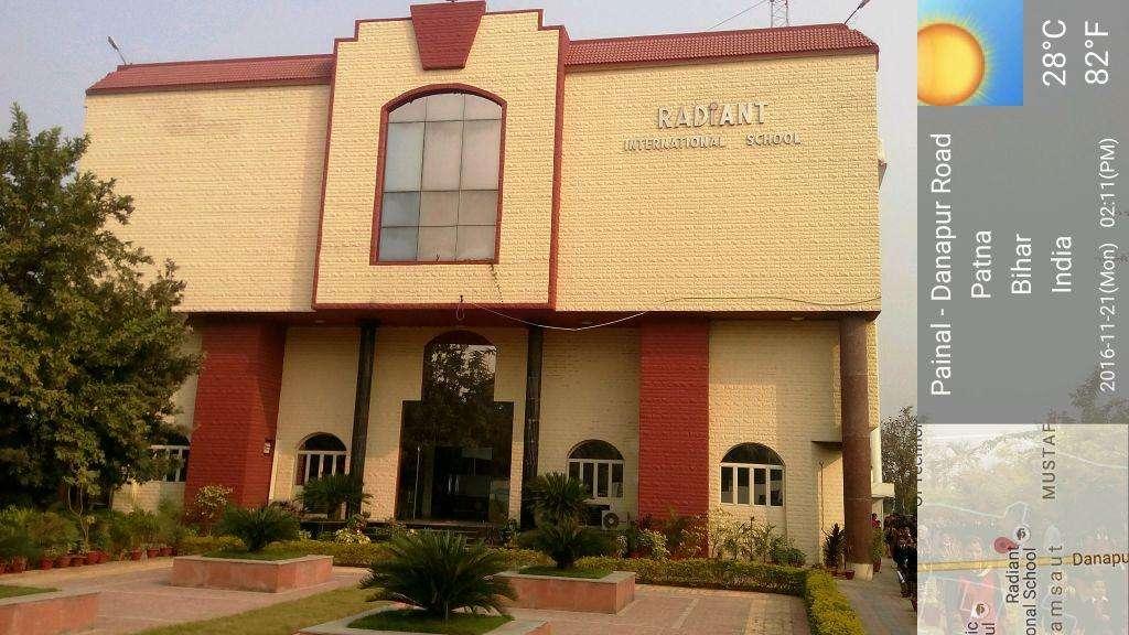 RADIANT INTERNATIONAL SCHOOL SAGUNA MORE KHAGAUL ROAD PATNA BIHAR 330120
