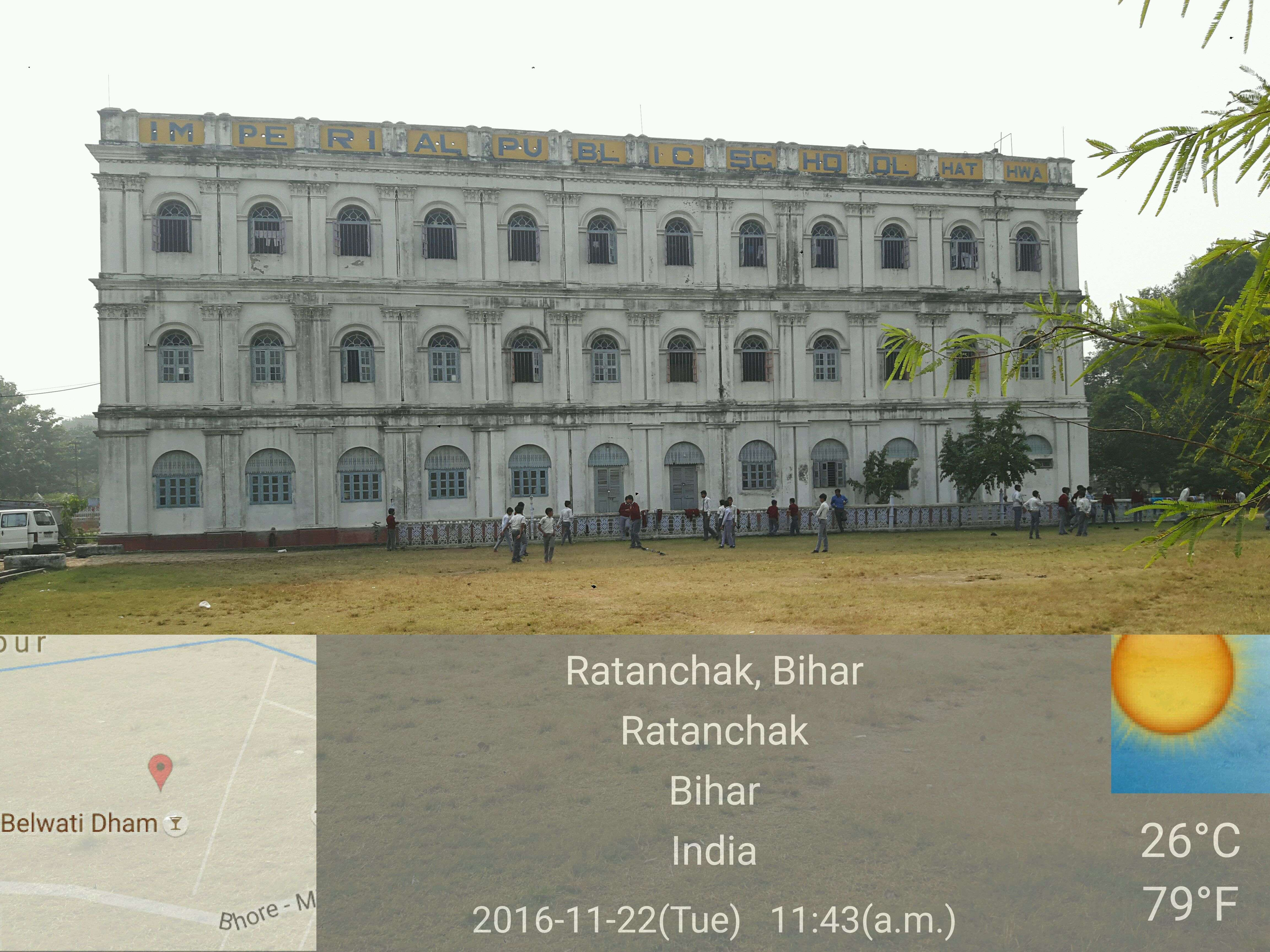 IMPERIAL PUBLIC SCHOOL PO HATHWA DISTT GOPALGANJ BIHAR 330149