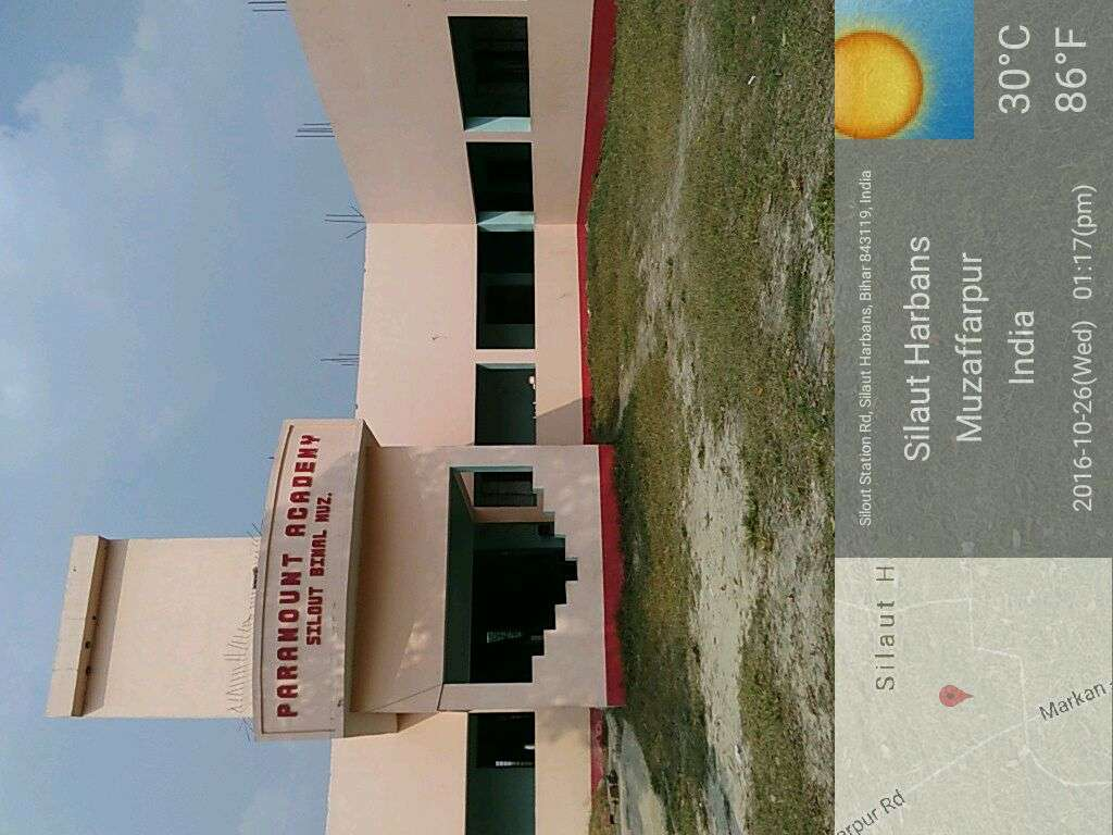 PARAMOUNT ACADEMY SILOOUT BIMAL P O MANIYARI 330176