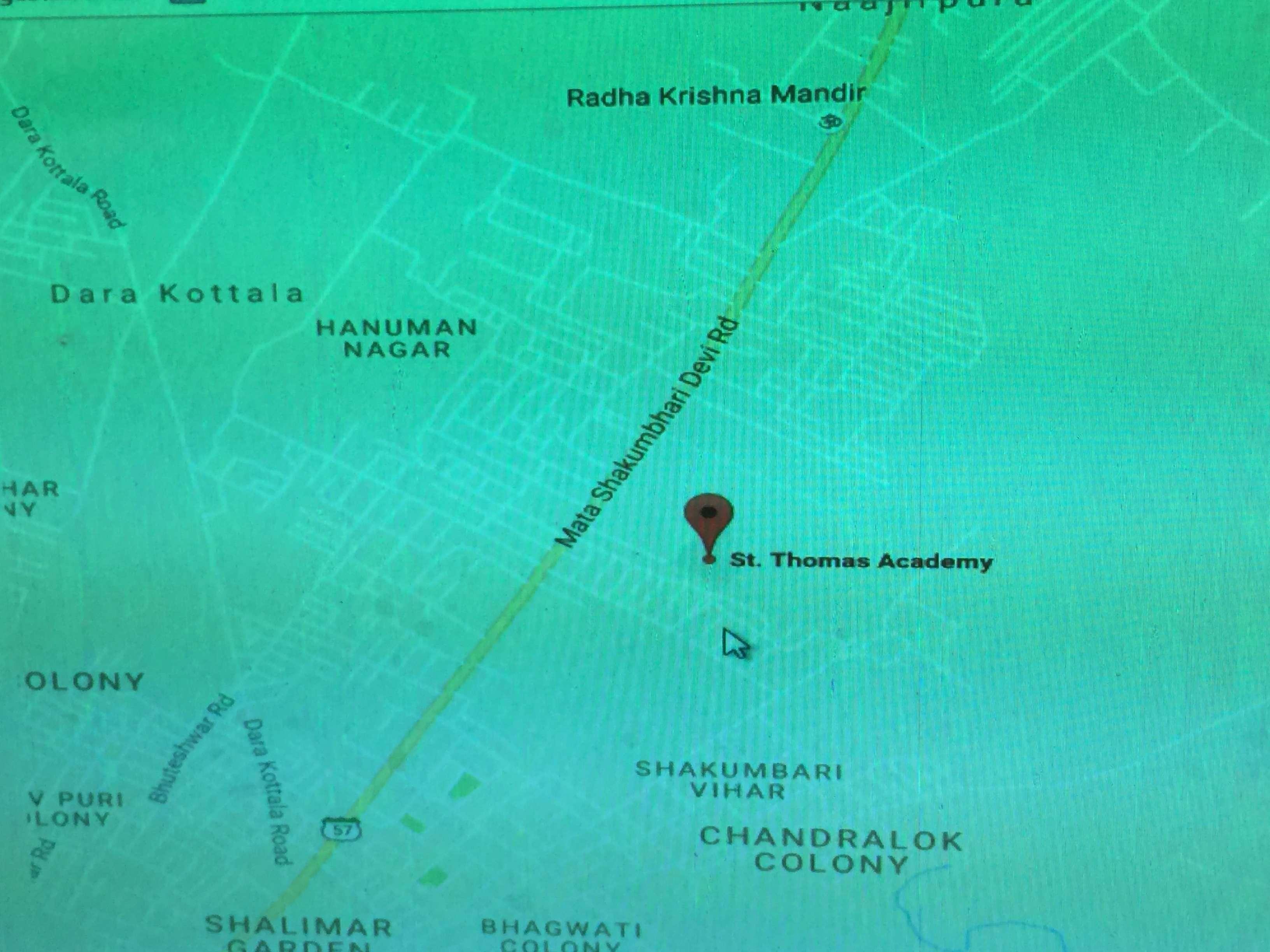 ST THOMAS ACADEMY BEHAT ROAD SAHARANPUR UTTAR PRADESH 2130567
