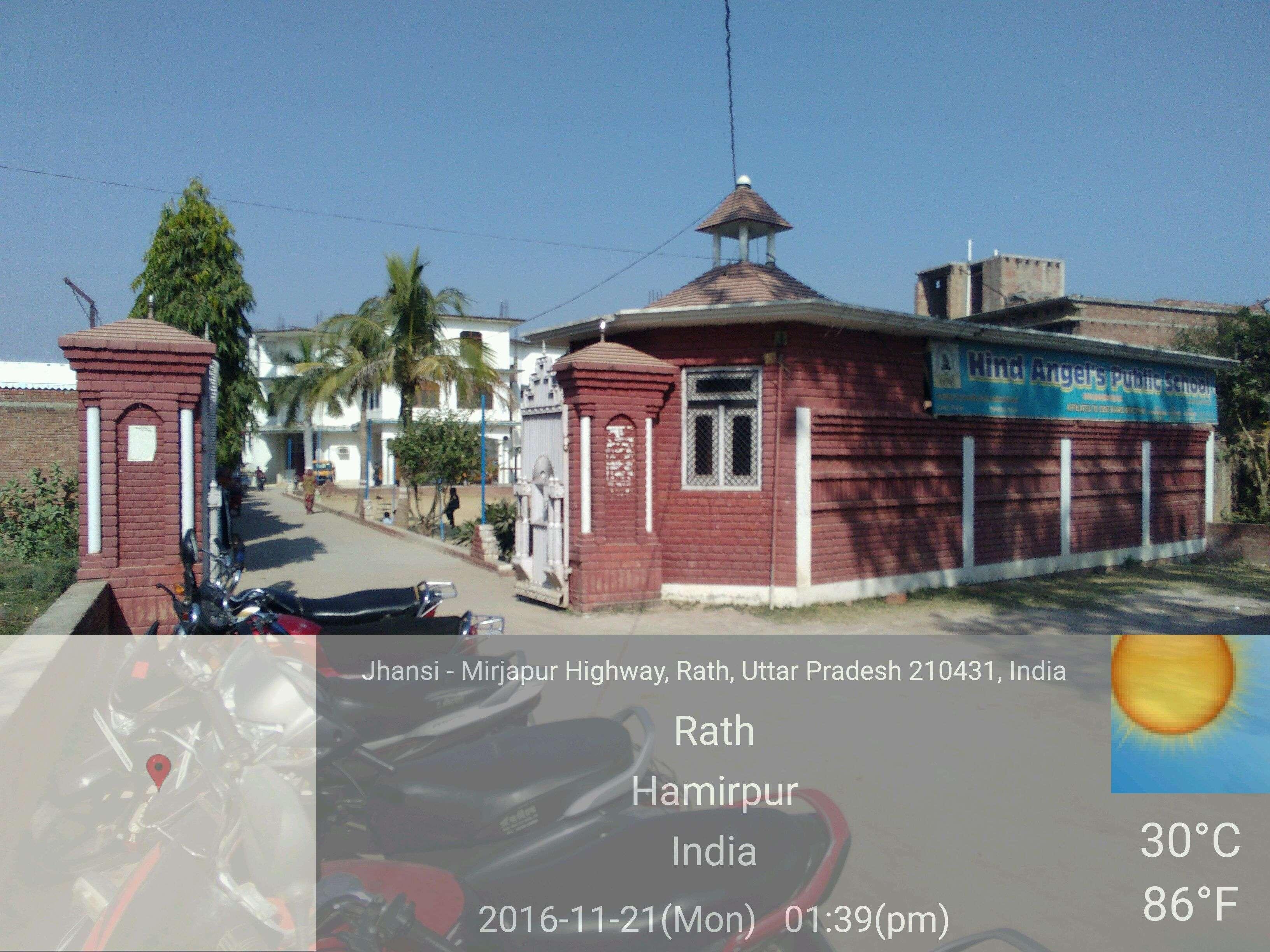 HIND ANGLES PUBLIC SCHOOL HAMIRPUR ROAD RATH UTTAR PRADESH 2130837