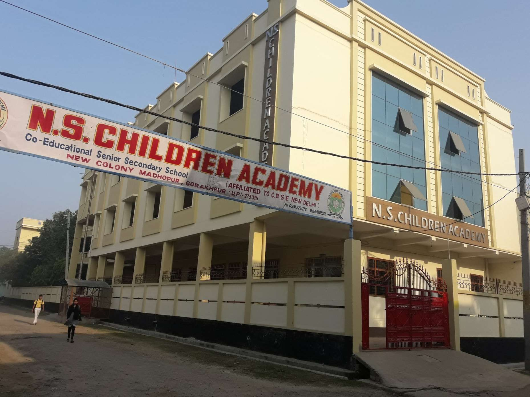 N S CHILDREN ACADEMY NEW COLONY MADOPUR GORAKHNATH GORAKHPUR 2130913