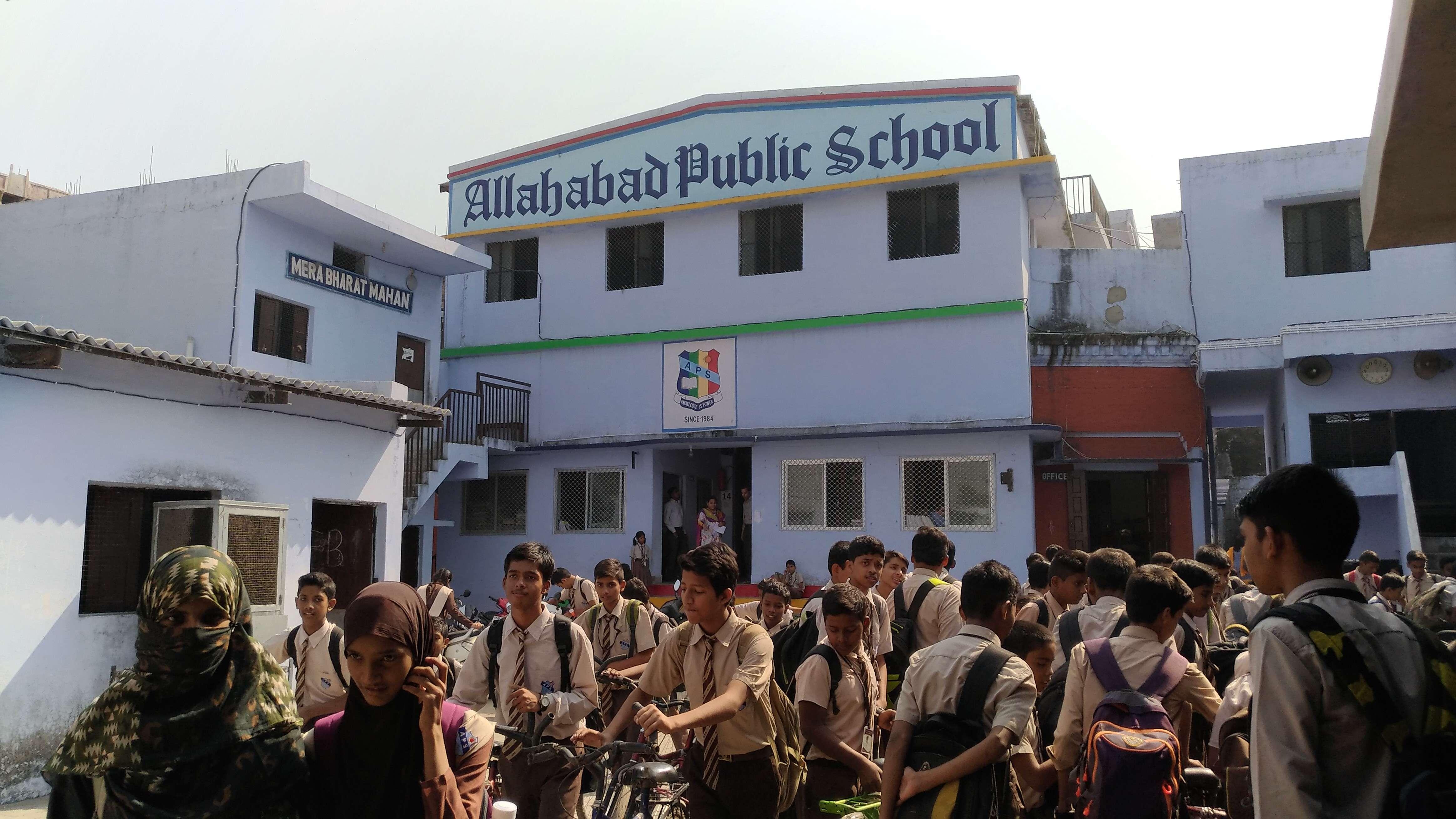 ALLAHABAD PUBLIC SCHOOL 1 NOORULLA ROAD KHULDABAD 2130958