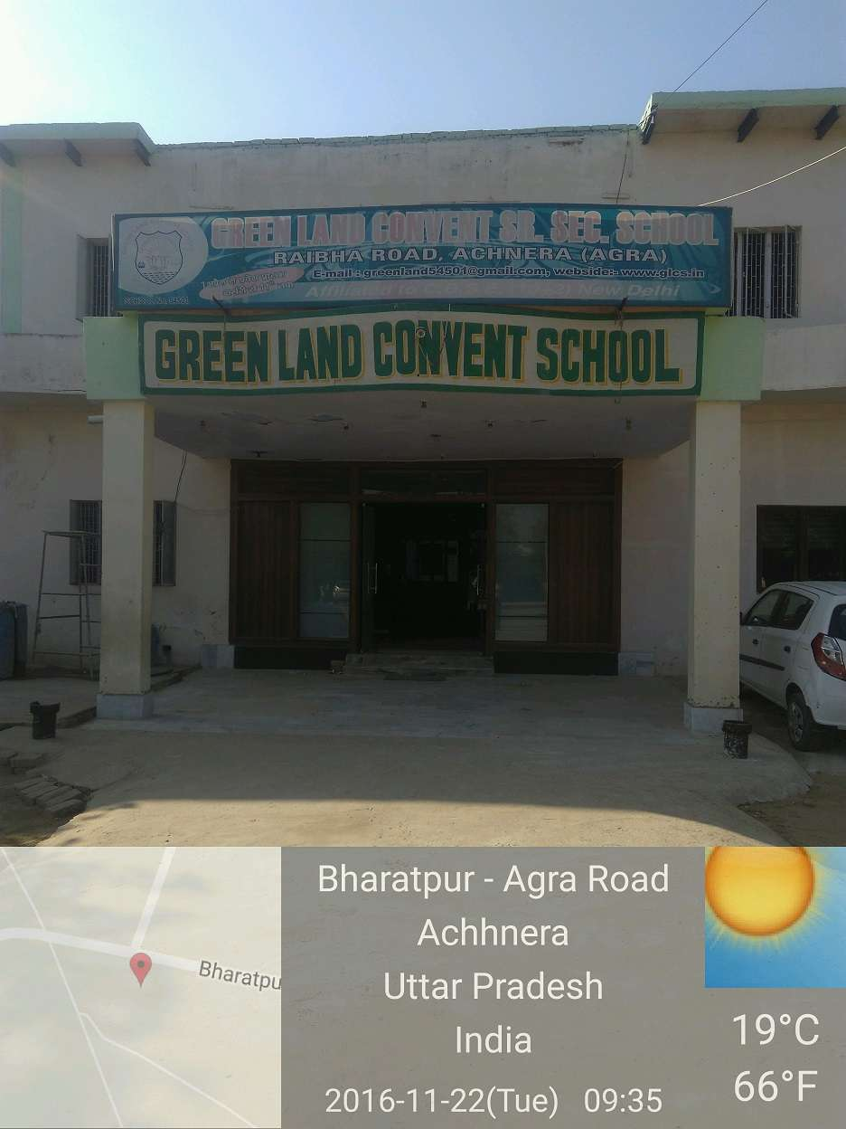 Green Land Convent School greenland convent school achnera agra 2131029