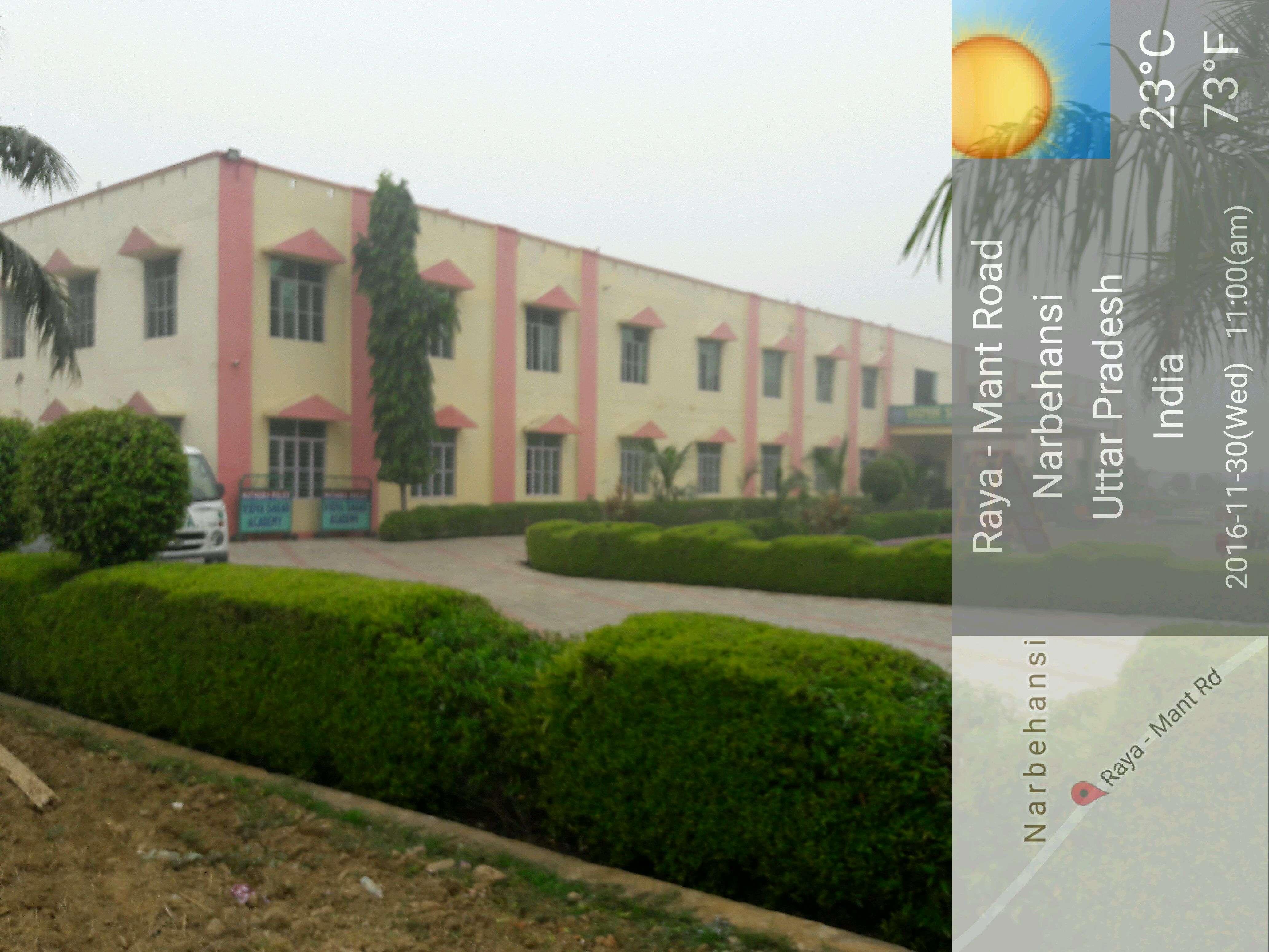 Vidya Sagar Academy Mant Road Raya Mathura 2131140