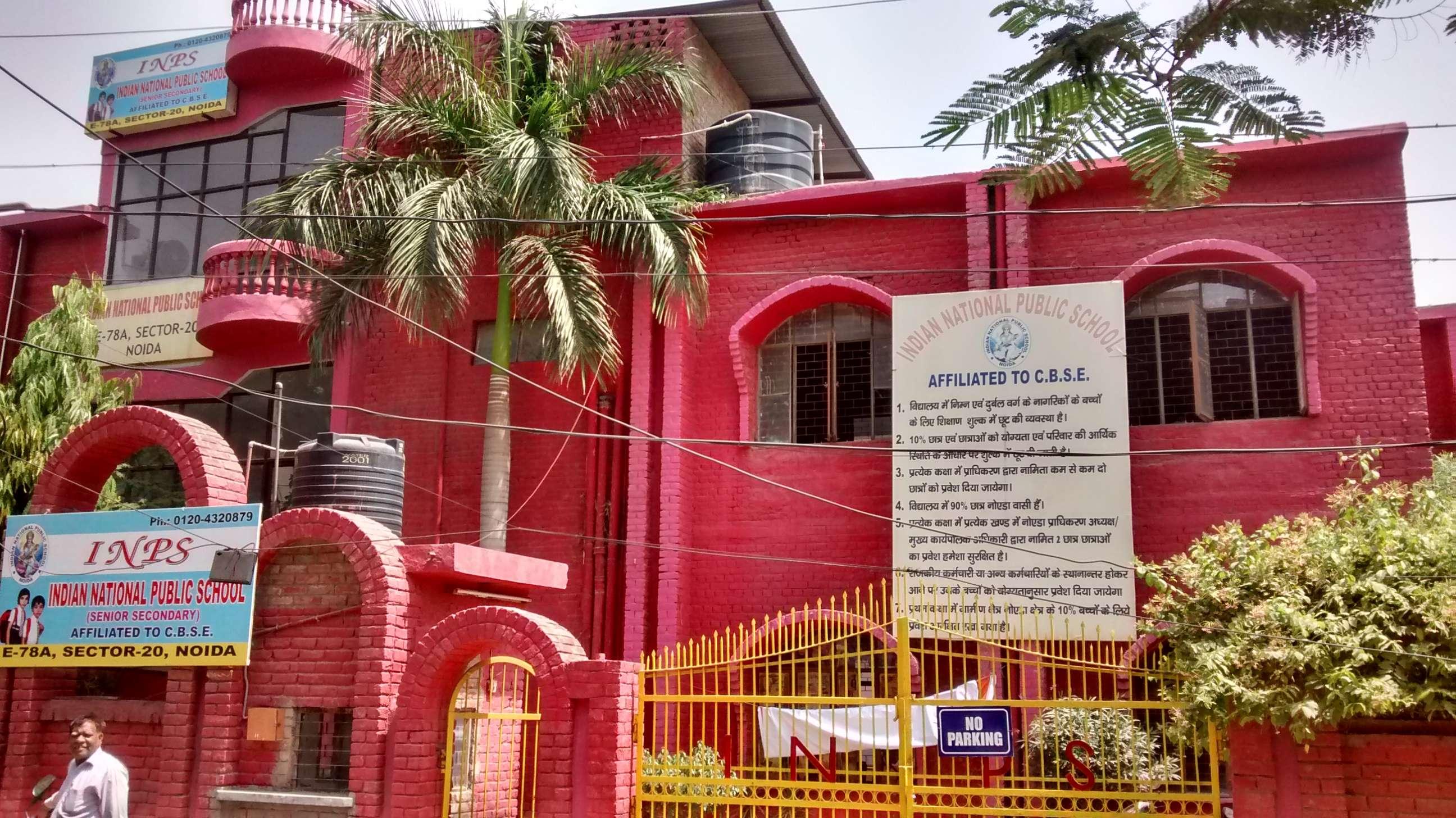 Indian National Public School E 78 A Sector 20 2131197