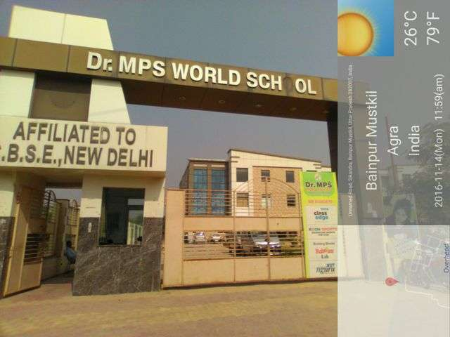 DR M P S WORLD SCHOOL AGRA DELHI HIGHWAY NEAR NAVEEN SABJI MANDI SIKANDRA AGRA 2131487