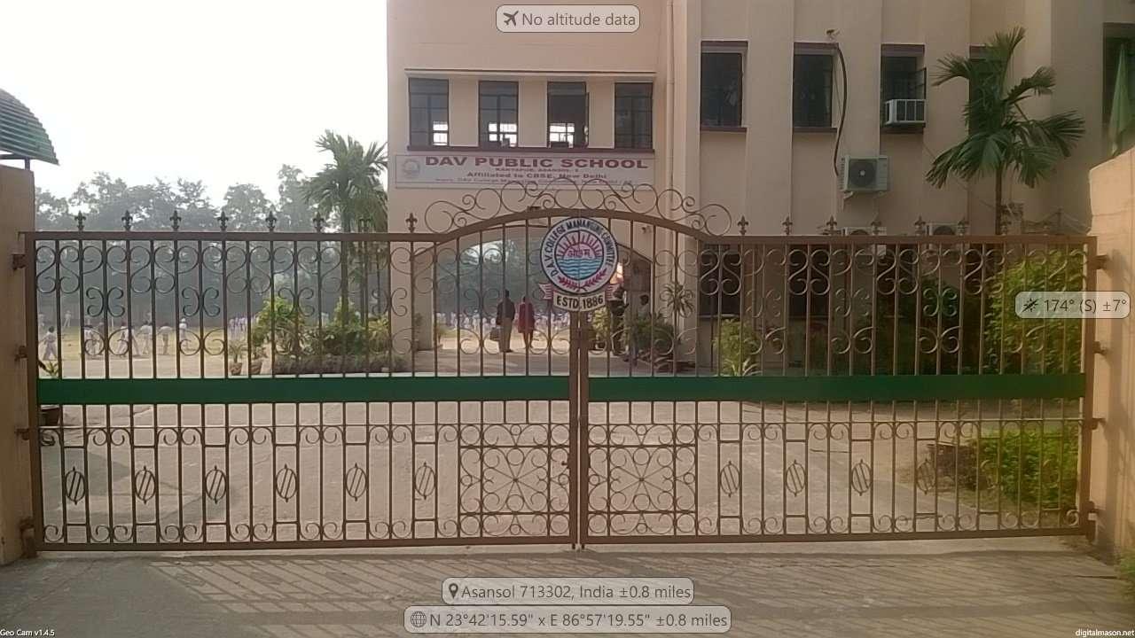 D A V PUBLIC SCHOOL KANYAPUR ASANSOL BURDWAN WEST BENGAL 2430088