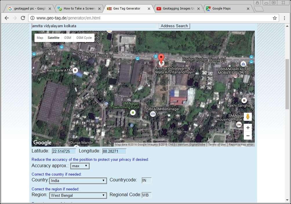 Amrita Vidyalayam Kolkata Budge Budge Trunk Road Near 13 A Bus Stand Sarkarpool PO 2430122