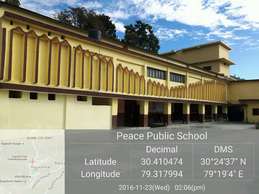PEACE PUBLIC SCHOOL CHAMOLI uttarakhand 3530384