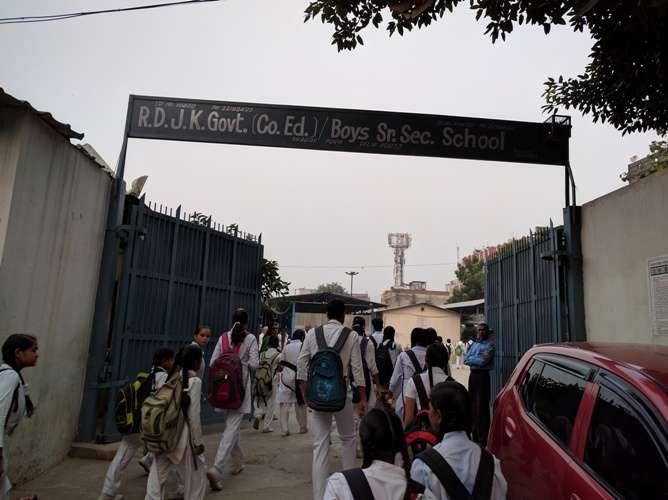 RAGHUBAR DAYAL JAN KALYAN GOVT CO ED SR SEC SCHOOL BHAJAN PURA DELHI 2772002
