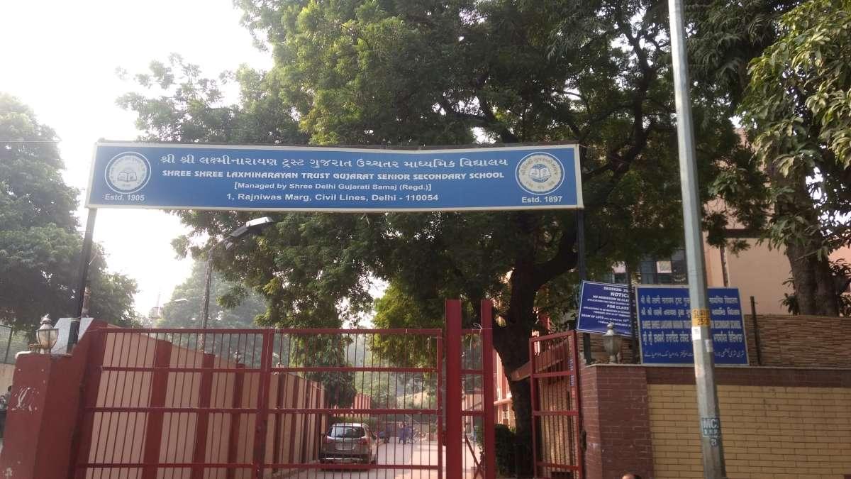 S S L T GUJARAT SR SEC SCHOOL RAJ NIWAS MARG DELHI 2778001