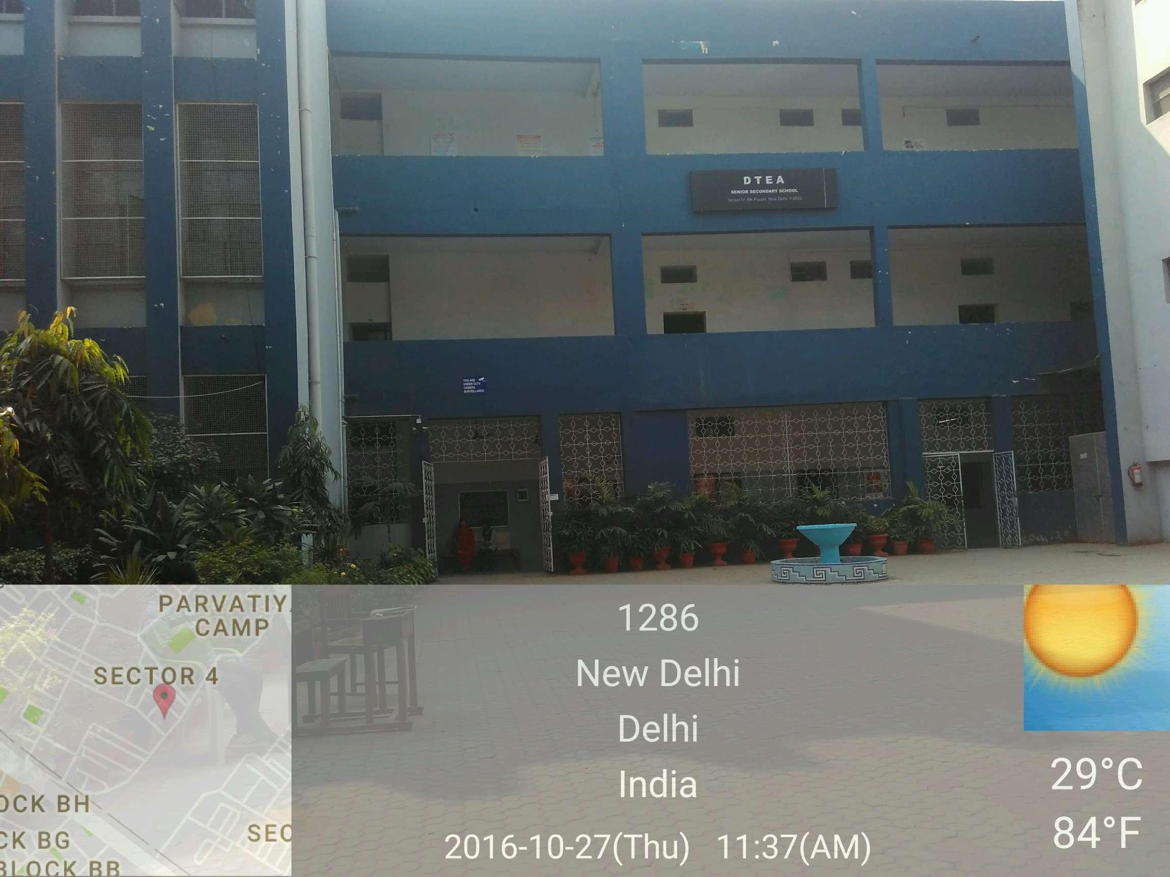 D T E A SR SEC SCHOOL SECTOR 4 R K PURAM NEW DELHI - The Learning Point