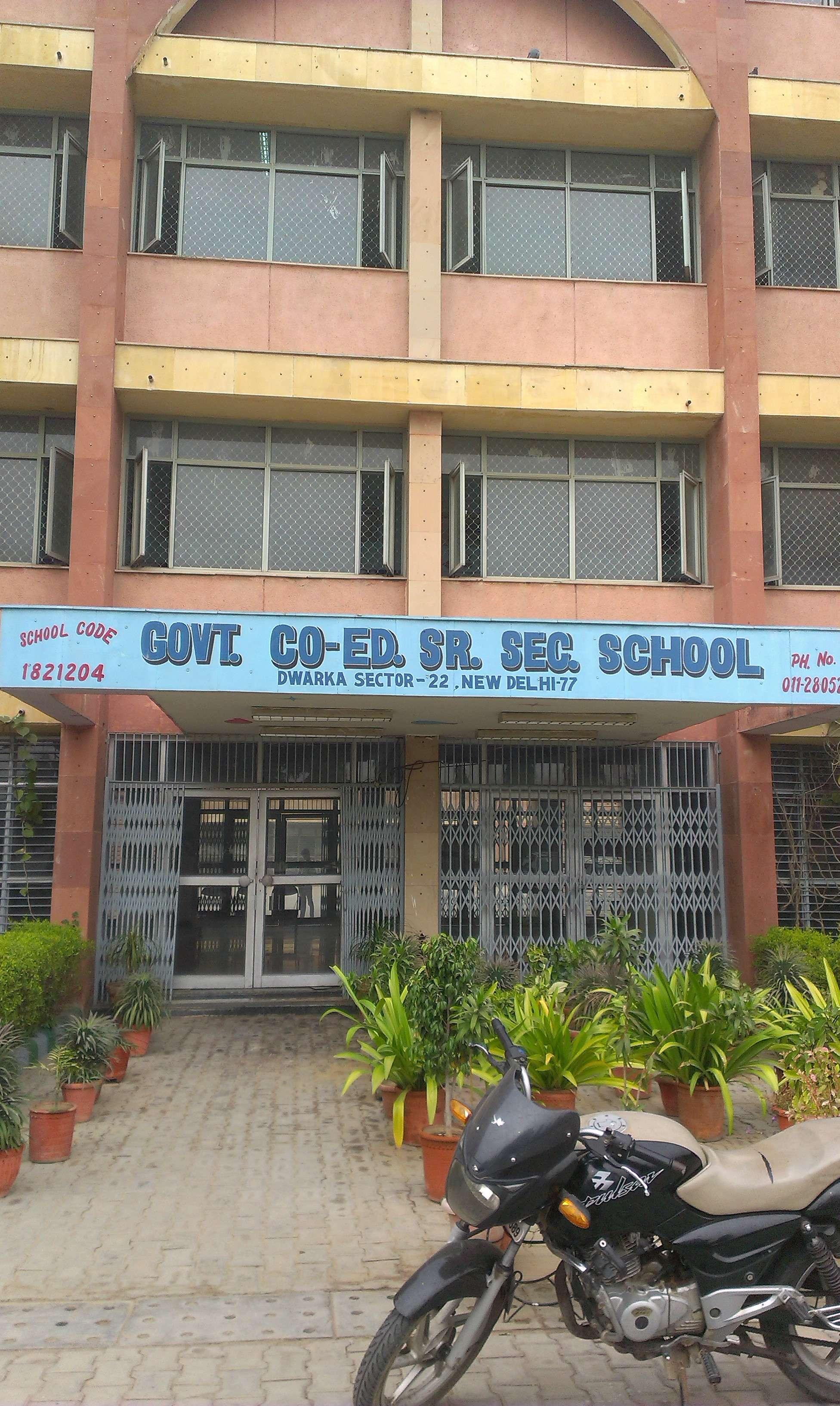 GOVT  CO-EDUCATION SR SEC  SCHOOL SECTOR-22, DWARKA, NEW DELHI - The