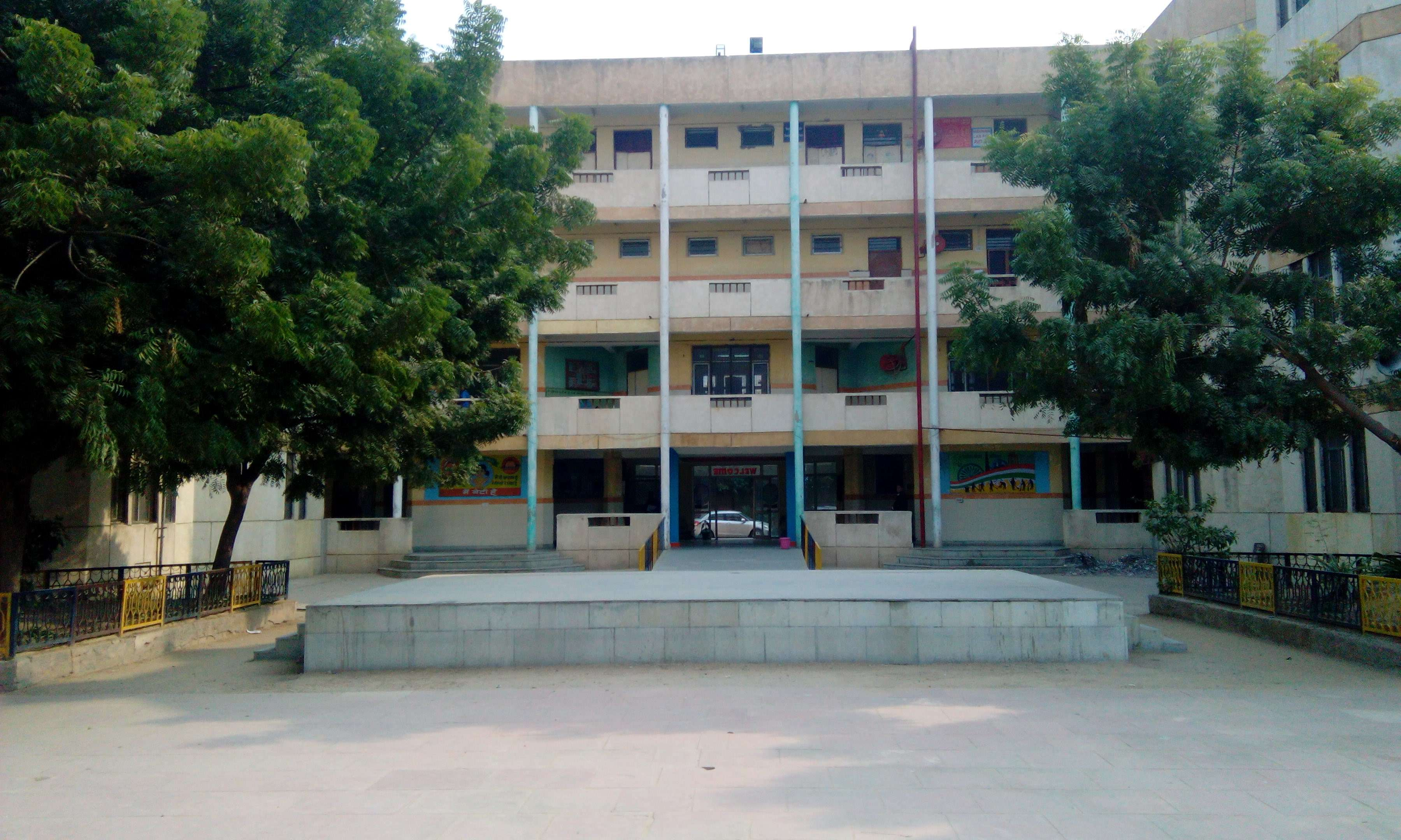 GOVT  BOYS SR  SEC  SCHOOL SECTOR - 3, (1ST SITE), DWARKA - The