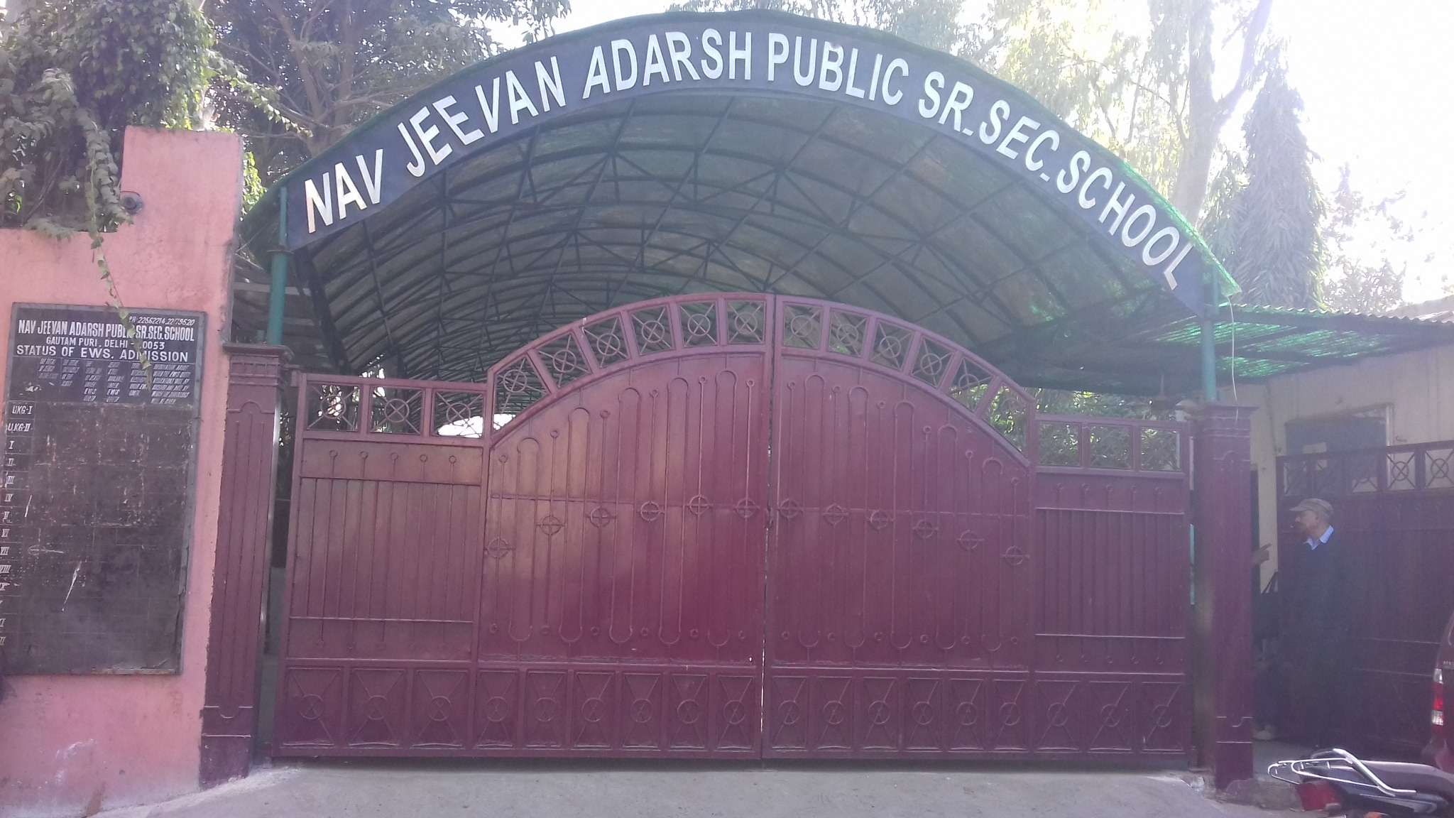 NAVJEEVAN ADARSH PUBLIC SCHOOL GALI NO 8 GAUTAM PURI DELHI 2730209