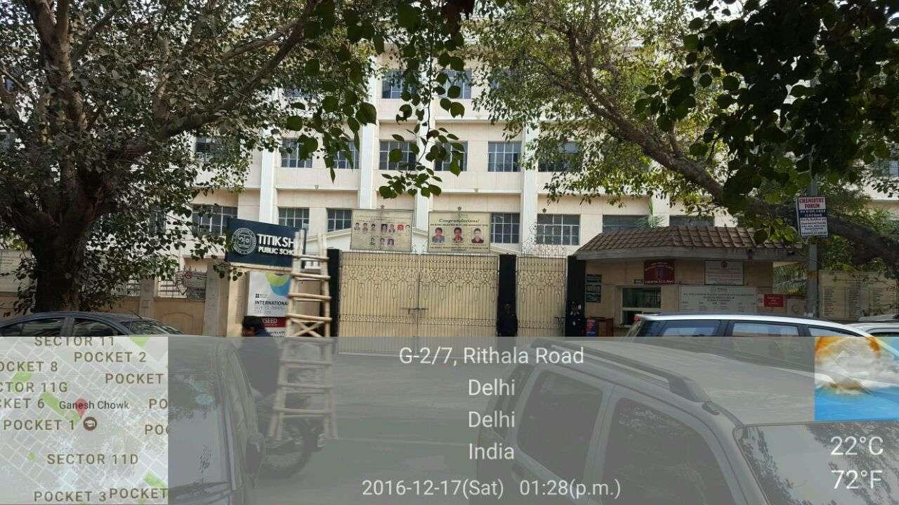 TITIKSHA PUBLIC SCHOOL SECTOR 11 ROHINI DELHI 2730402