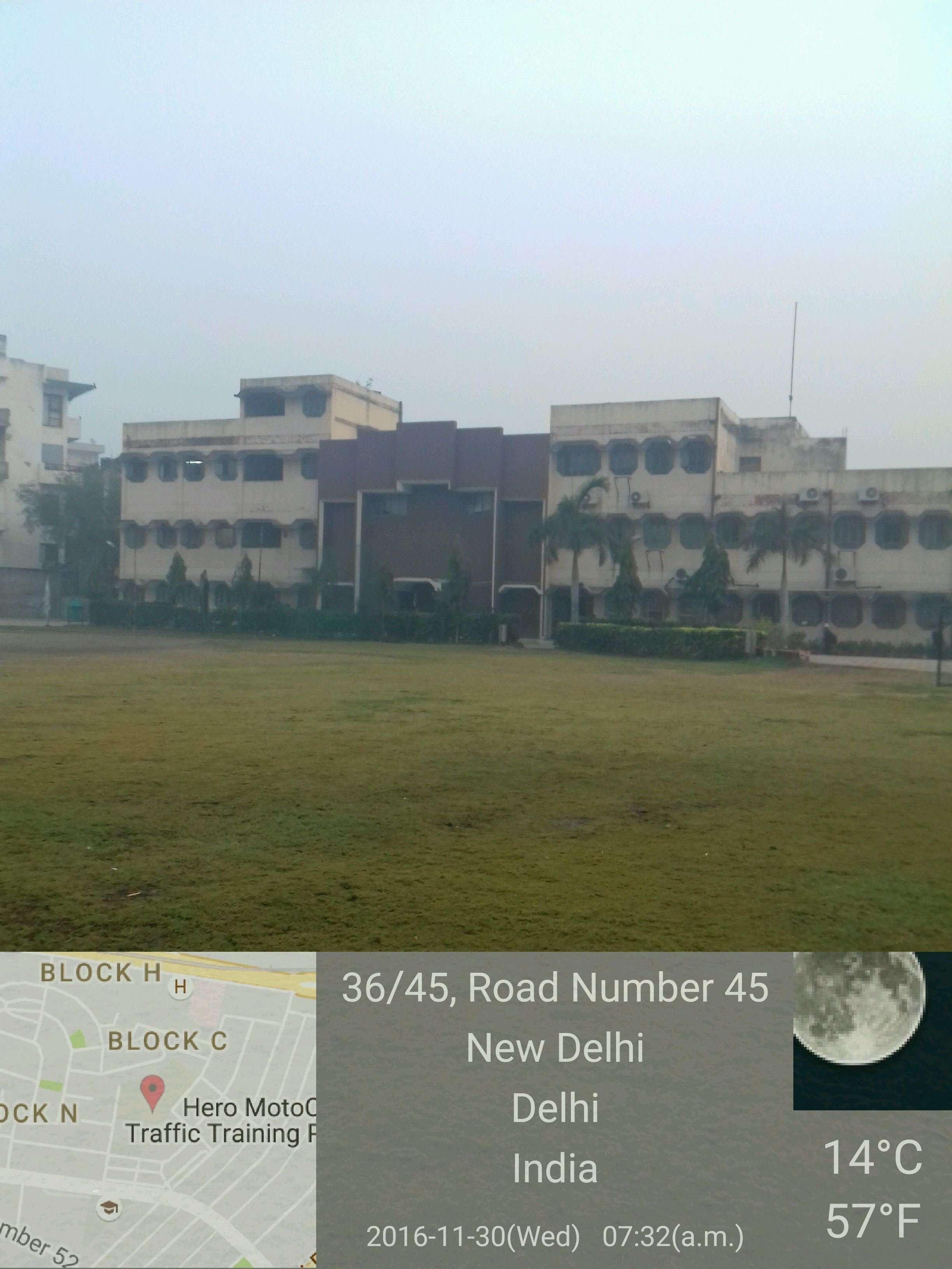 S M ARYA PUBLIC SCHOOL ROAD NO 45 PUNJABI BAGH NEW DELHI 2730059