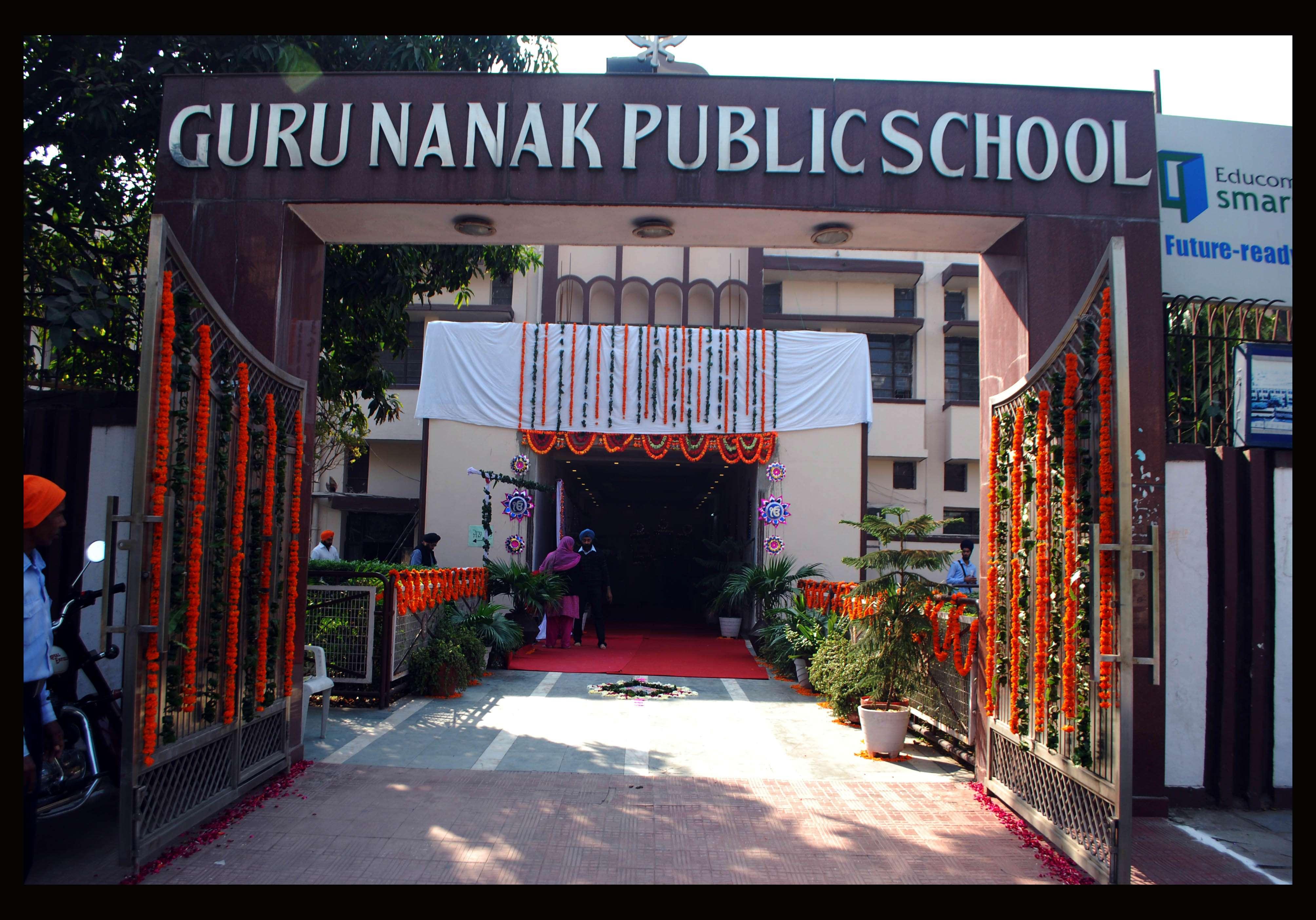 GURU NANAK PUBLIC SCHOOL WEST AVENUE PUNJABI BAGH NEW DELHI 2730058