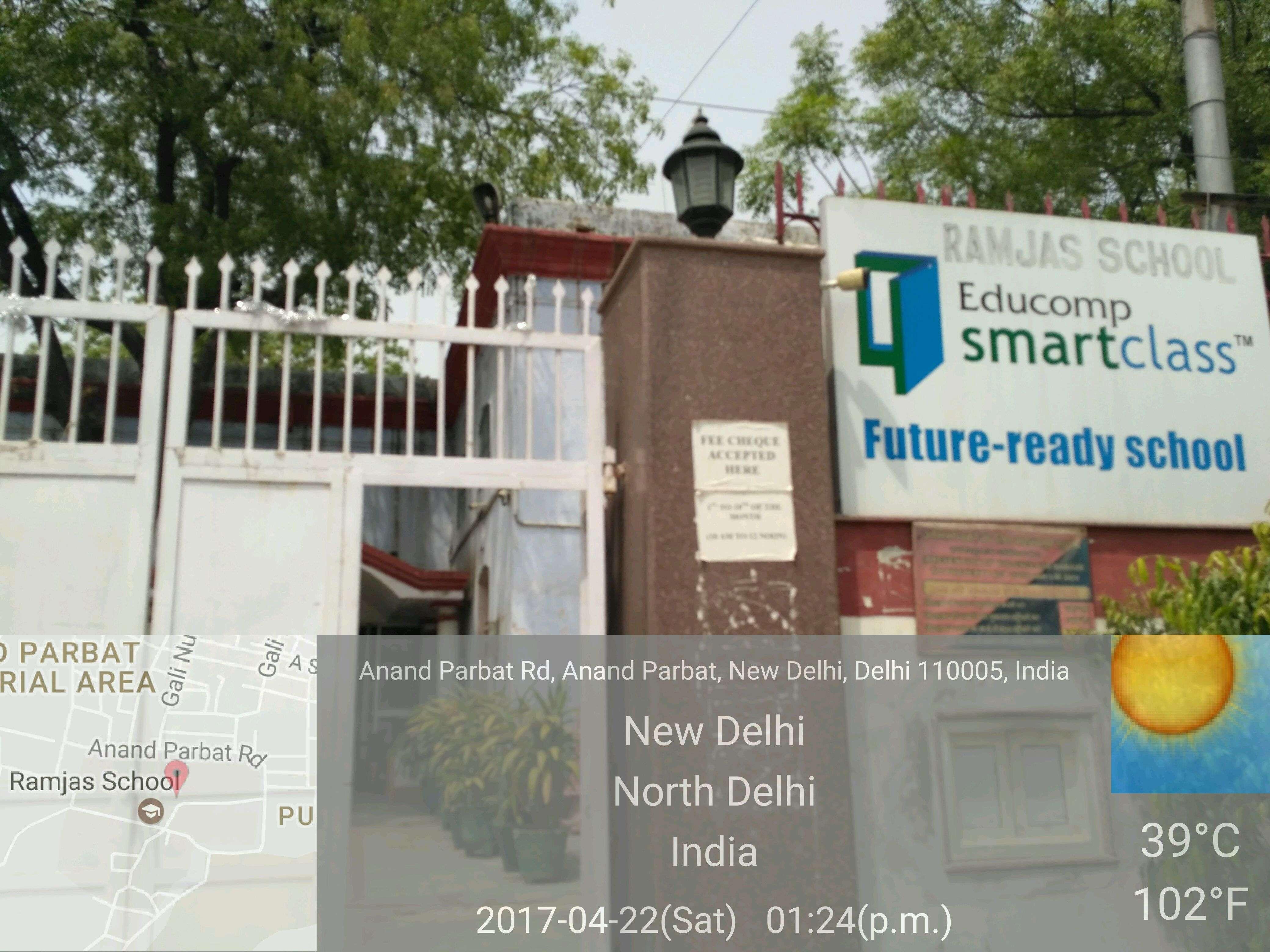 RAMJAS SCHOOL ANAND PARBAT NEW DELHI 2730161