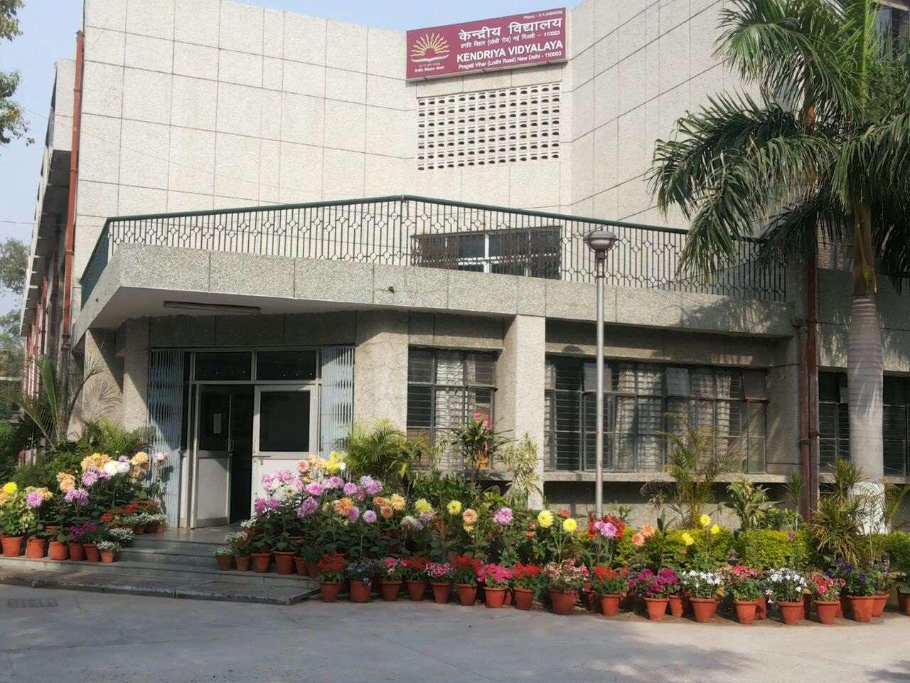 KENDRIYA VIDYALAYA PRAGATI VIHAR LODHI ROAD NEW DELHI 2700022