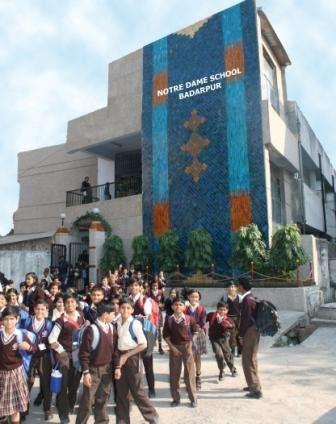 NOTRE DAME SCHOOL B T P S STAFF COLONY P O BADARPUR NEW DELHI 2730227