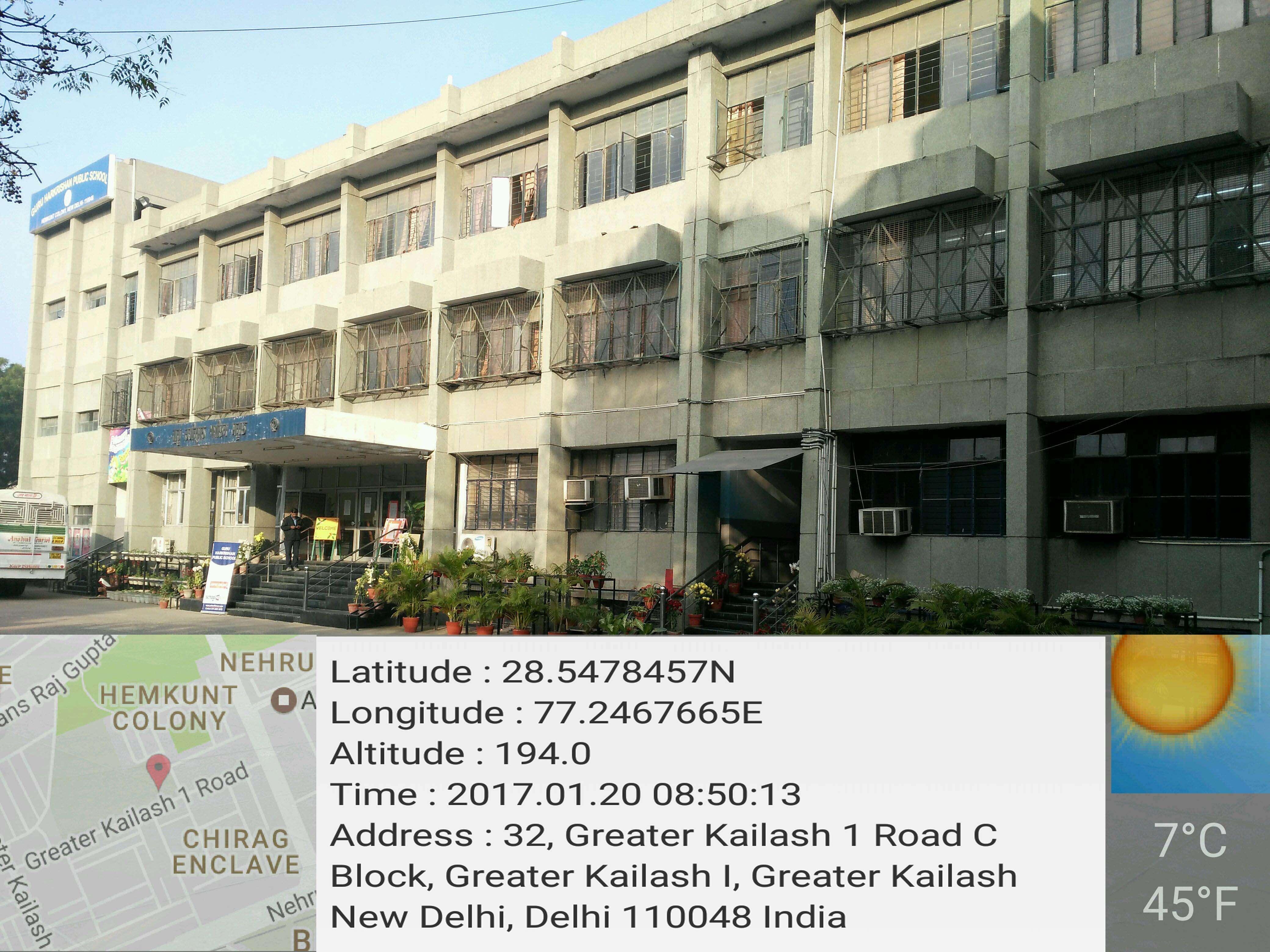 GURU HAR KRISHAN PUBLIC SCHOOL HEMKUNT COLONY NEW DELHI 2730284